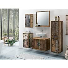 Badmöbel rustikal landhausstil  Suchergebnis auf Amazon.de für: badmöbel rustikal
