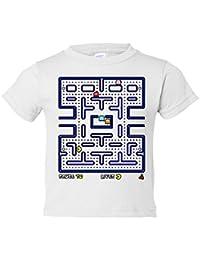 Camiseta niño Pacman Comecocos juego clásico