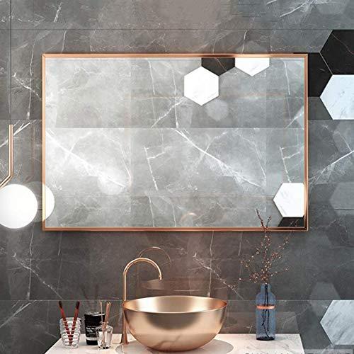 Bathroom mirror Espejo De Baño Rectangular Grande, Espejo De Maquillaje Moderno Y Minimalista, Marco...
