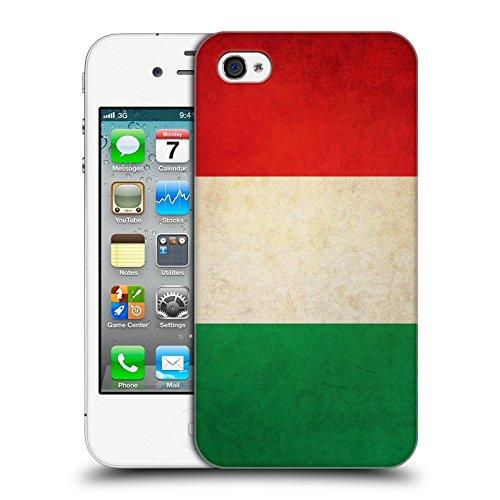 Head Case Designs Türkei Türkisch Vintage Fahnen Ruckseite Hülle für Apple iPhone 6 Plus / 6s Plus Italien Italienisch