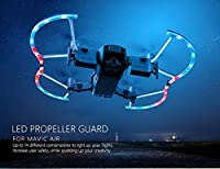 Studyset 2 Pcs PGYTECH LED Propeller Guard with Colorful Lighting Mode Protective Propeller for MAVIC AIR