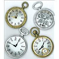 Jolees Boutique Dimensional Stickers-Vintage Pocket Watches
