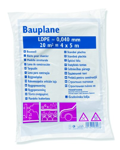 Color Expert Bauplane 4 x 5 m, 40 my, 96922010