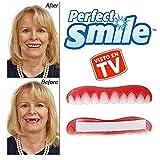 Perfect Smile 2x1 - La increíble e instantánea FUNDA DE CARILLAS reutilizable y extraíble que te proporciona el aspecto de unos dientes perfectos CON LOS QUE que volverás a estar orgulloso de sonreír.