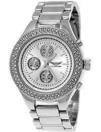 Pure time-damenuhren 84672–2–Armbanduhr Damen, Armband aus Metall