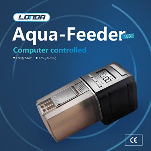 Alimentador de peces de pecera automático