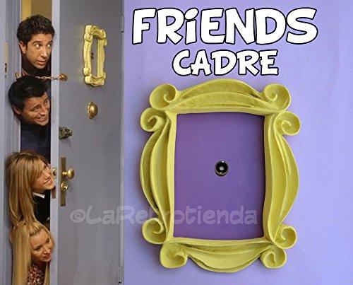 friends-tv-cadre-jaune-monica-porte-vous-aimer