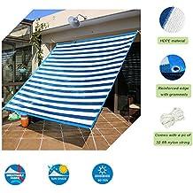 Insun Toldo contra el sol y rayos UV Vela de Sombra para exterior Parasol Rectangula protección