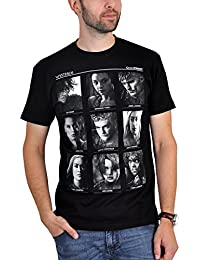 T-shirt Game of Thrones Heroes coton noir