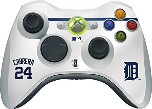 MLB Detroit Tigers Xbox 360 Wireless Controller Skin - Detroit Tigers - Miguel Cabrera #24 Vinyl Decal Skin For Your Xbox 360 Wireless Controller by Skinit (Xbox Für Mlb-spiele)