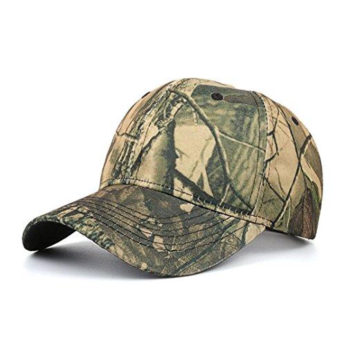 Damen & Herren Baseball Kappe ,OYSOHE Neueste Frauen Männer Casual Tactical Outdoor Camouflage Sport Cap Baseballmütze (Einheitsgröße, Grün)