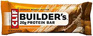 Clif Bar Builder's Bar Crunchy Peanut Butter 12 bars