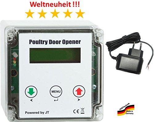 Automatische Hühnerklappe PDO + Steckernetzteil + Zeitschaltuhr - Direkt vom Hersteller !