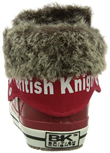 British Knights Roco  Unisex-Kinder Hohe Sneakers Rot (Red06)