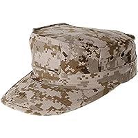Camuflaje–Militar octogonal sombrero Gorro de Ranger Ripstop de soldado del ejército combate sombreros para actividades al aire libre, Desierto digital