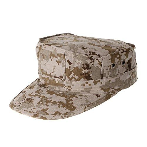 Camouflage Mens Military Octagon Hut Armee Ranger RipStop Soldat Cap Combat Hüte für Outdoor-Aktivitäten (Digital Camo-hut)