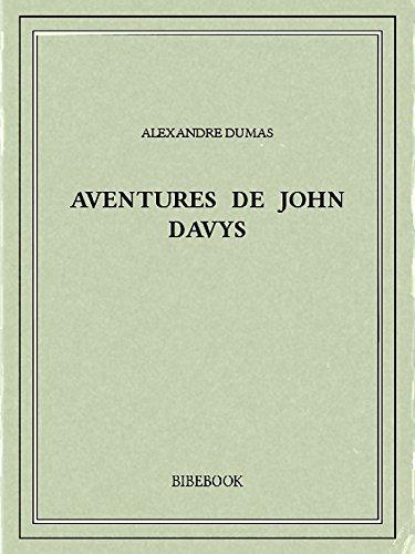 Couverture du livre Aventures de John Davys