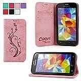 COOVY® Étui pour Samsung Galaxy S5 SM-G900F SM-G901F Neo SM-G903F...