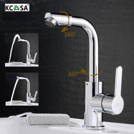 [Livraison Gratuite 7-12 jours] KCASA™ cuisine salle de bain évier robinets à chaud robinets mixtes froid 720 degrés en laiton pivotant robinet BML®