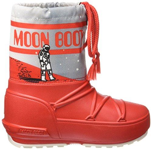 Moon Boot Pod Stardust Jr Schneestiefel Neu Kind. Rote