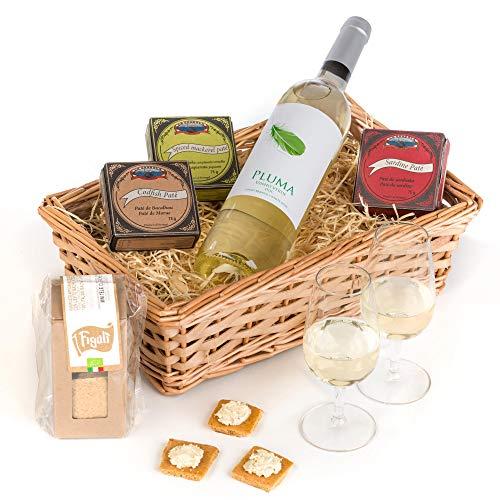 Hay Hampers - Portuguese Vinho Verde & Pate Selection - FREE UK Delivery