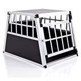 COZY PET Aluminium Car Dog Cage 6 Travel Puppy Crate Pet Carrier Transport Model ACDC01. (We do not ship to the Channel Islands or The Isles of Scilly.)