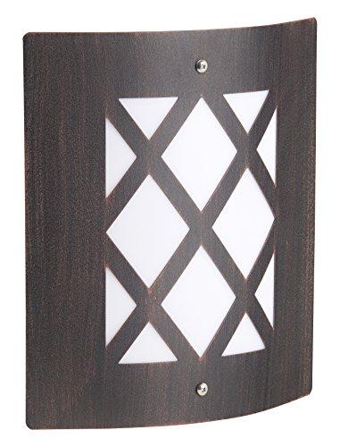 Brilliant Todd 47681/55 - Aplique de pared para exteriores (E27 60 W),...