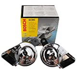 #8: Bosch 6033FB1510 Fan Trumpet Horn for Cars (Set of 2)