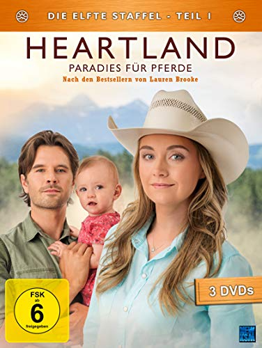 Heartland - Paradies für Pferde: Staffel 11.1 (Episode 1-9) [3 DVDs]