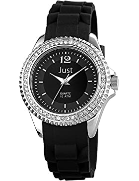 Just Watches Damen-Armbanduhr XS Analog Quarz Kautschuk 48-S3858-BK