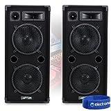 "Best Dj Speaker Pairs - 2x Ekho MAX210 2 x 10"" Speakers 1800W Review"