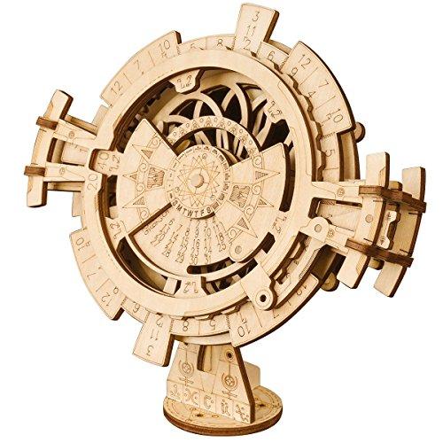 Robotime Perpetual Calendar – Kit de Construction de modèles mécaniques pour découpe au Laser Adultes