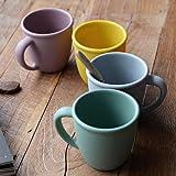 Silicona color pastel taza taza