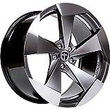 Tomason TN15 10x20 LK 5x112 Hyperblack polished VW,Audi,Mercedes