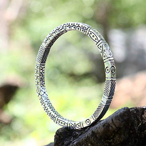 Lnyy Sterling Silber Paar Armband Vintage Armband Schmuck Geschenk