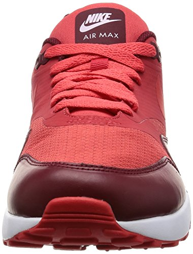 Nike Air Max 1 Ultra 2.0 Essential, les Formateurs Homme Rouge (Track Red/track Red/team Red/white)