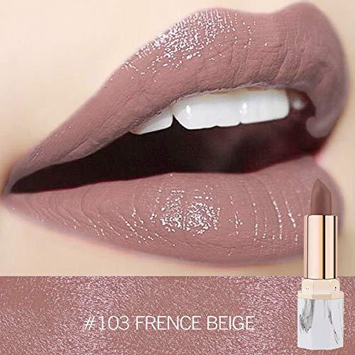 Lipgloss,Rabatt,PorLous 2019 Beliebt Lippenstift Wasserdichte Perlen Metallische Langlebige Lippenkosmetik Schönheits Make Up Geschenk Feuchtigkeitsspendend 3