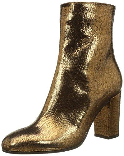 L'Autre Chose Zip, Bottines Classiques Femme Or (Bronze)