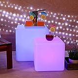 LOFTEK Lampe Lumineuse Cube LED Télécommande, 16RGB Couleurs Changeables pour Décoration Cadeau