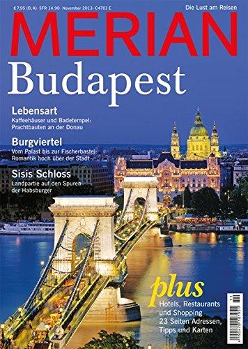 Budapest, H. 11: Die Lust am Reisen (Merian)