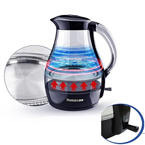 GXIAO Kitchen & Home Appliances JK-111 Electric Kettle Glass Automatic Power-off Kettle Boiling Water Water Heater Electric Kettles Hot Water Dispensers