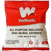 Walltastic, Adhesivo para Todo Tipo de Papeles Decorativos para Pared y murales