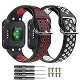 T-BLUER Watch Band Compatible for Garmin Forerunner 35 Correa,Accesorio de Pulsera de Pulsera de reemplazo de Silicona Transpirable Compatible con Garmin Forerunner 35 Reloj Inteligente