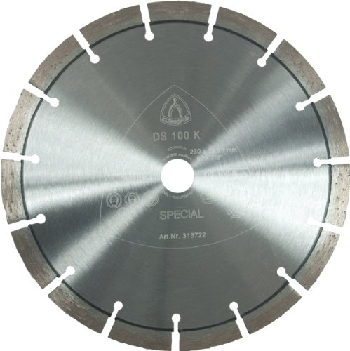 KLINGSPOR 313722 DIAMANTE/DIAMANTE (DS 100 K  230 X 22 23 MM  1 STK