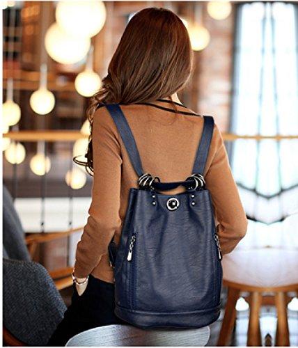 LAIDAYE Frau Dual-Use-Multifunktions-Anti-Diebstahl-Reisen Bucket Bag 3