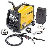 Wolf MIG 140 Welder Gas/No Gas Combination Turbo Smooth DC Welder & Accessory