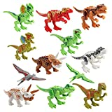 Best Gifts For 3 Year Old Boys Legos - YUHUAWYH Dinosaur Toys for Toddlers Kids Plastic Building Review