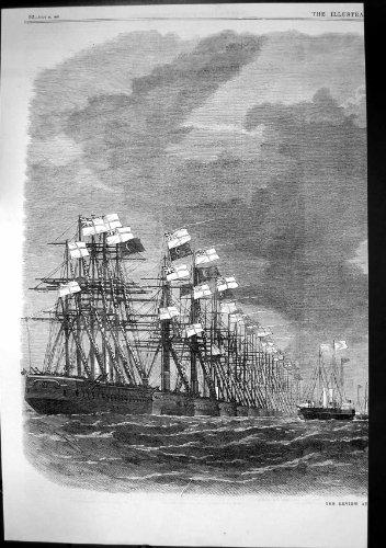 Zusammenfassung Versendet SeeFliegen-Flaggen 1867