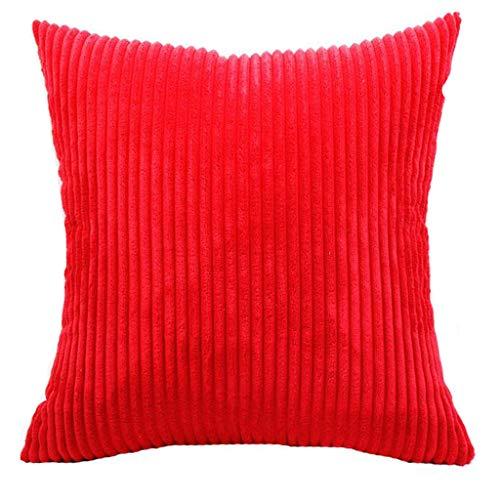 fiosoji Relleno de Cojines,Almohada Viaje Hinchable,cojin Sofas Exterior,Almohadas para Cuello,Color sólido,45cmx45cm