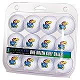 LinksWalker Kansas Jayhawk-Dozen Golf Bälle, weiß, One Size
